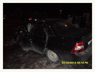 В Тамбове автомобиль насмерть сбил пешехода