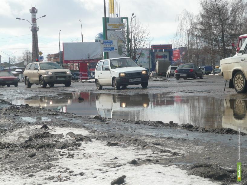 В бюджет Тамбова депутаты заложили денег на ремонт Пролетарской