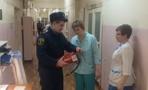 Спасатели проверили, как персонал Кирсановской больницы готов к пожару