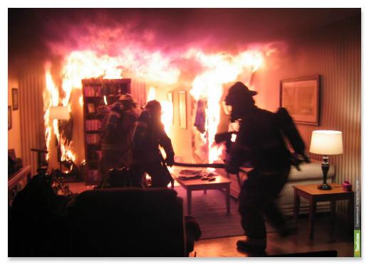 Два тамбовчанина погибли в огне за минувшие сутки