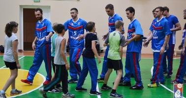 Игроки БК «Тамбов» проведут мастер-класс для жителей Рассказово