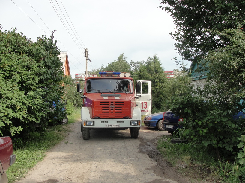 На пожарах в Тамбовской области погибли тридцать человек