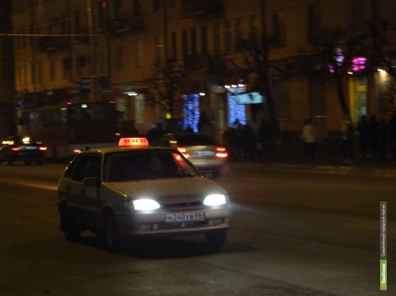 По Тамбову ездят 245 лицензированных такси