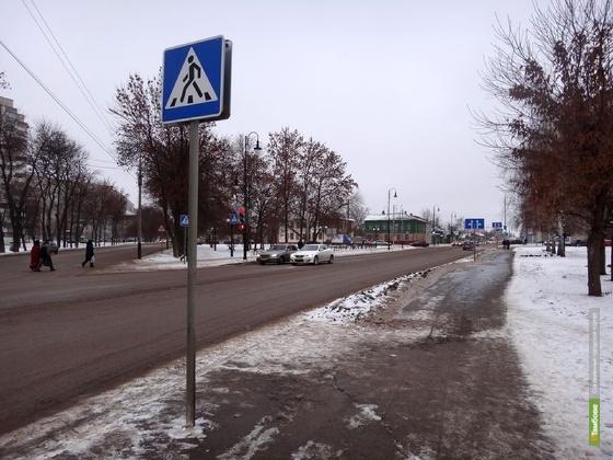 Пешеходы стали чаще попадать в ДТП