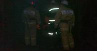 В Первомайском районе горел легковой автомобиль