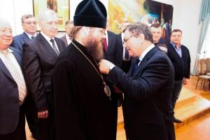 """Епископ Феодосий стал """"Почетным строителем России"""""""