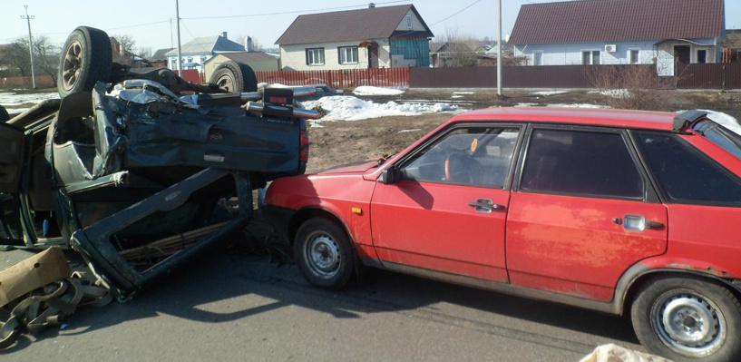 Три автомобиля попали в ДТП в Рассказовском районе