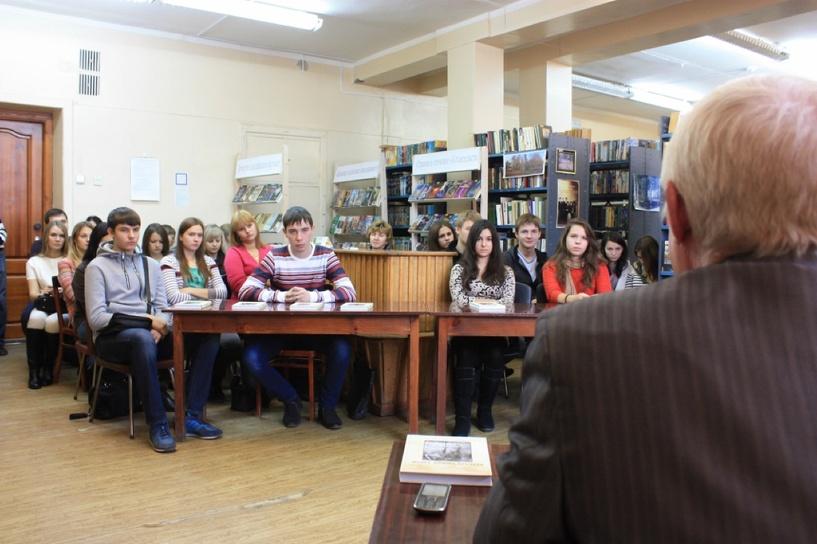 В ТГТУ презентуют книгу тамбовского автора