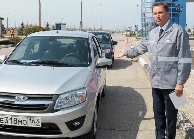 Глава АвтоВАЗа сел за руль «Лады-Гранты»