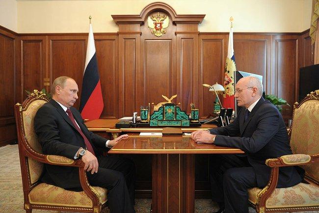 Выпускной по-путински: очередной глава региона отправлен в отставку в мае