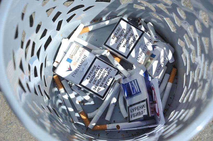 Кабмин отказался вводить минимальную цену на сигареты