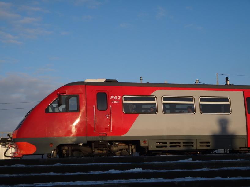 Расписание одного из пригородных поездов вновь изменится