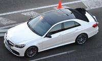 Новый Mercedes-Benz E-Class удалось сфотографировать без камуфляжа