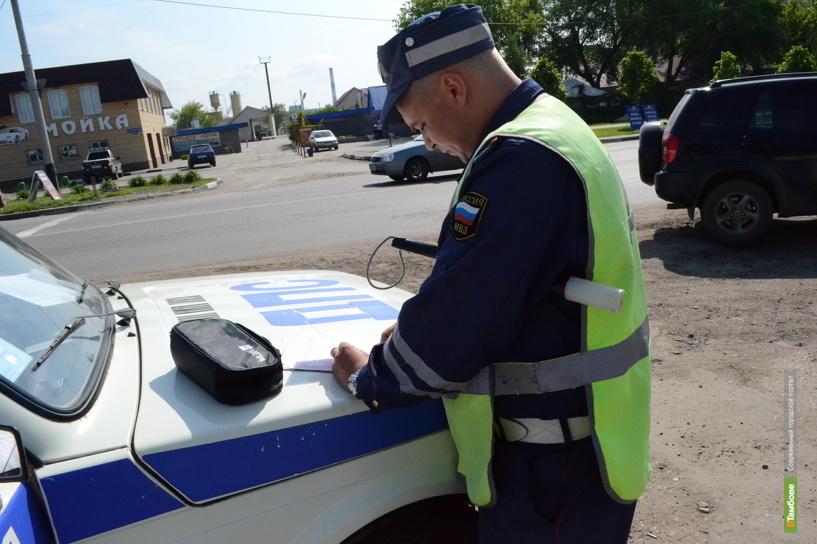 Тамбовские автоинспекторы поймали 14 родителей-нарушителей