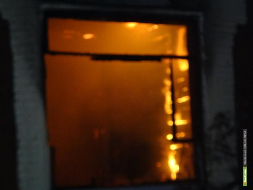 В одной из многоэтажек на улице Чичканова произошёл пожар