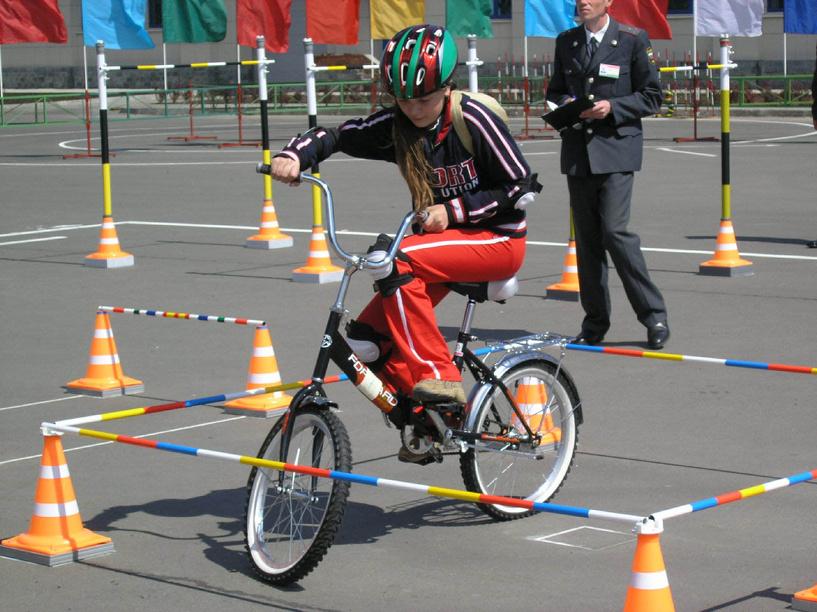 В Тамбове прошел областной конкурс «Безопасное колесо»