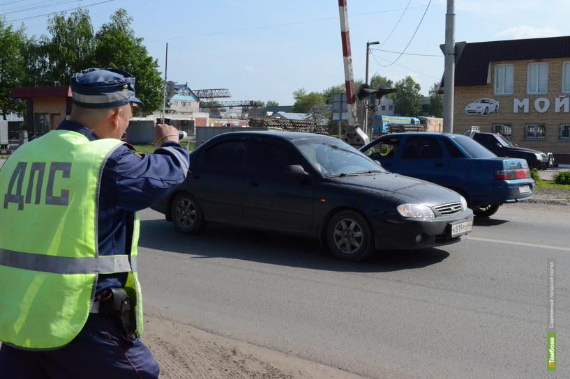 Всех автомобилистов, въезжающих в Тамбов, проверят на трезвость