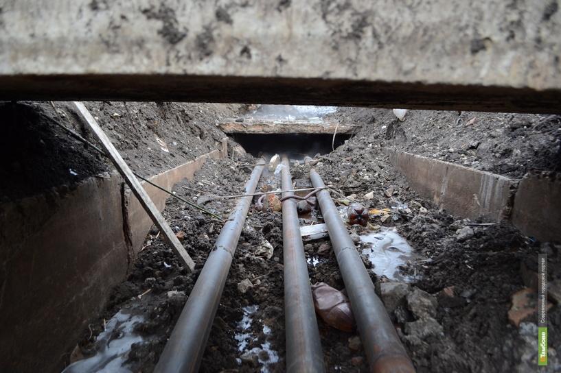 Тамбовские коммунальщики забыли закопать траншею после ремонта