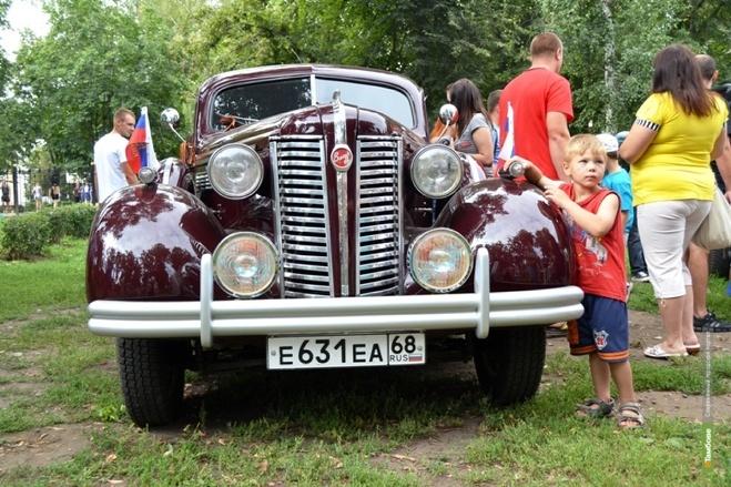Тамбовчанам покажут автомобили эпохи войны