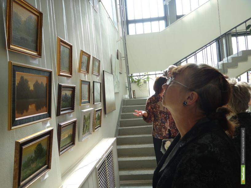 Тамбовчане увидят живопись Людмилы Кудрявцевой