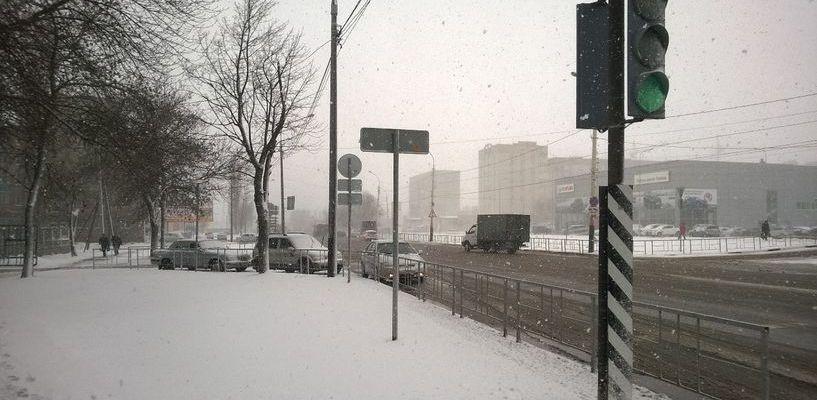 Соцсети рассказывают: в Тамбов среди апреля пришла зима