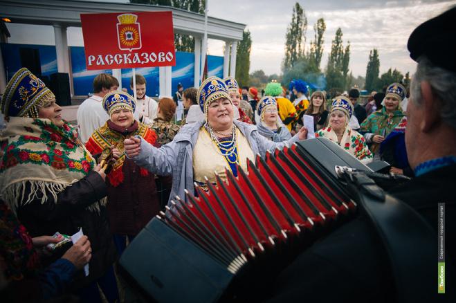 Тамбовских гармонистов покажут по Первому каналу
