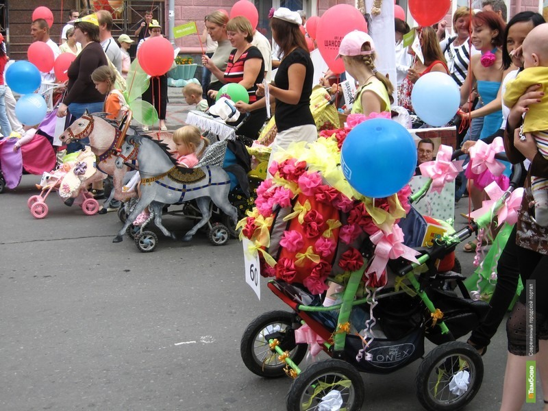 В Тамбовской области пройдёт парад детских колясок