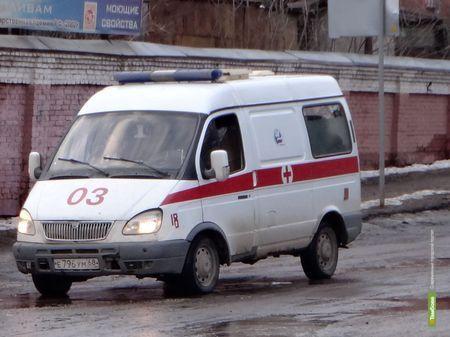 """На Тамбовщине столкнулись Камаз и """"Четырнадцатая"""""""