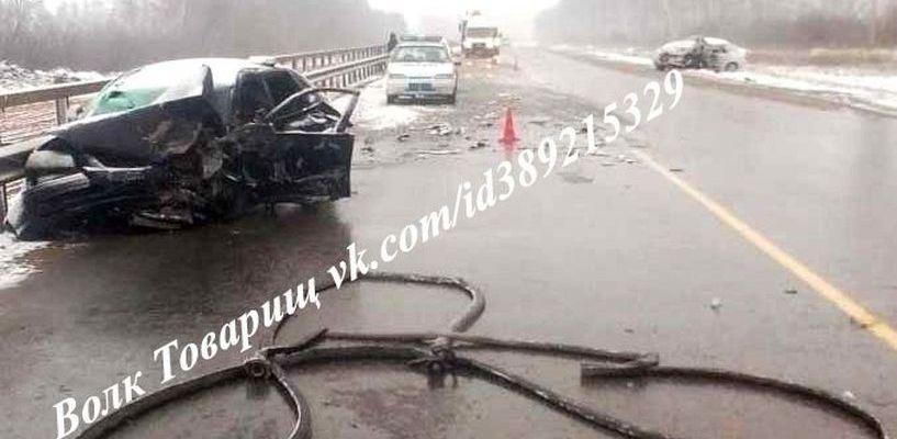 На М6 «Каспий» в результате ДТП погиб водитель «четырнадцатой»