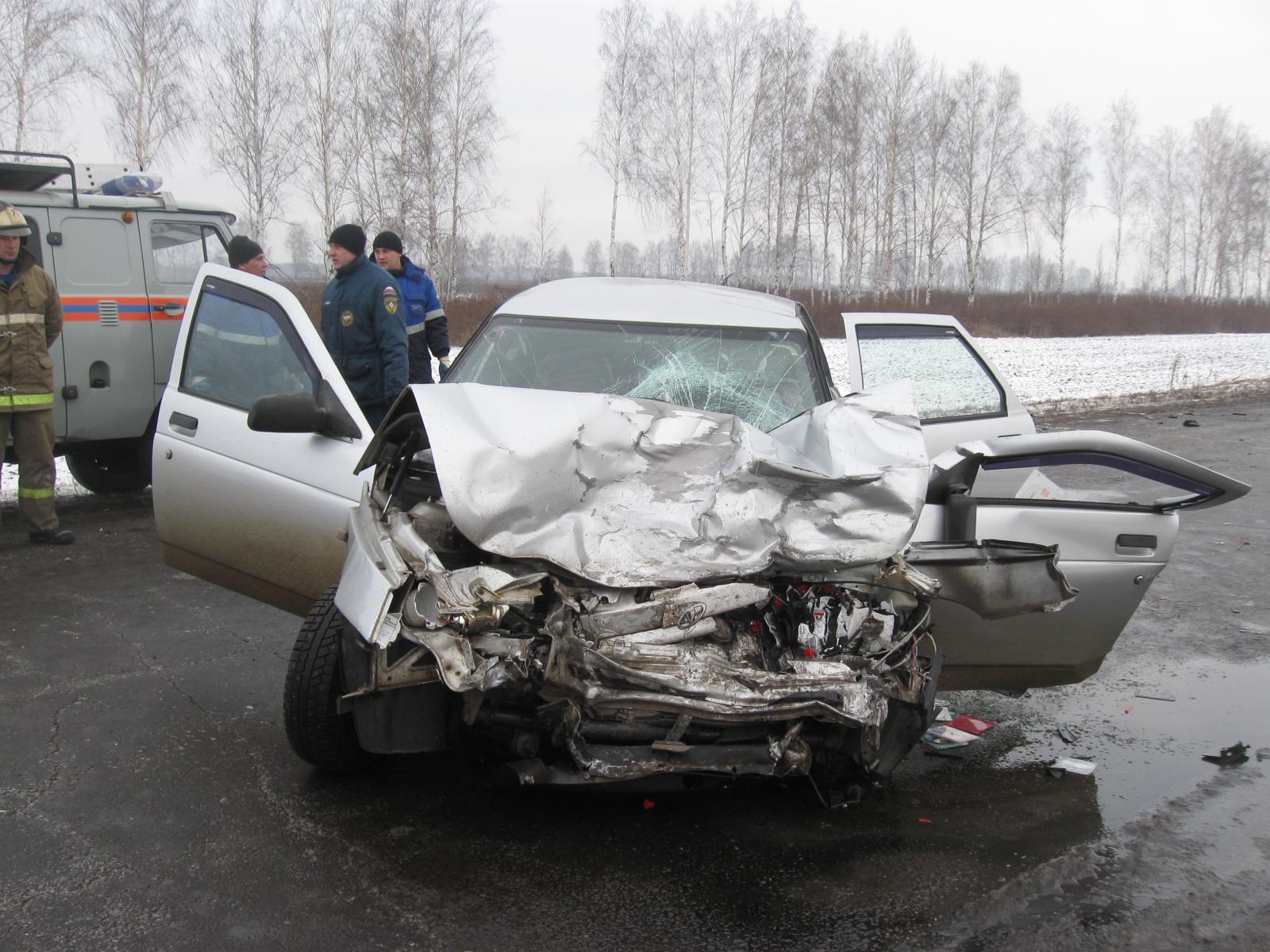 ВМичуринском районе вДТП погибли два водителя