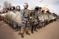 МВД России закупает спецснаряжение для разгона митингов