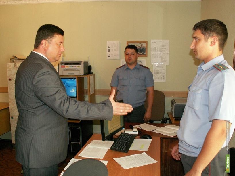 За школами Тамбовщины будут следить полицейские