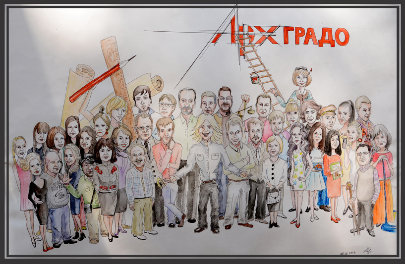 Руководство компании «Архградо» поощрило сотрудников поездкой в Волгоград