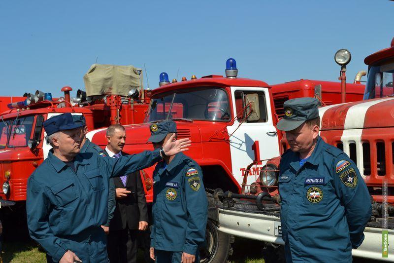 В День знаний тамбовские спасатели перешли на усиленный режим работы