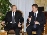 Владимир Путин и Виктор Янукович обсудили дела в Сочи