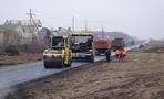 В городе продолжается строительство новой дороги на Рылеева