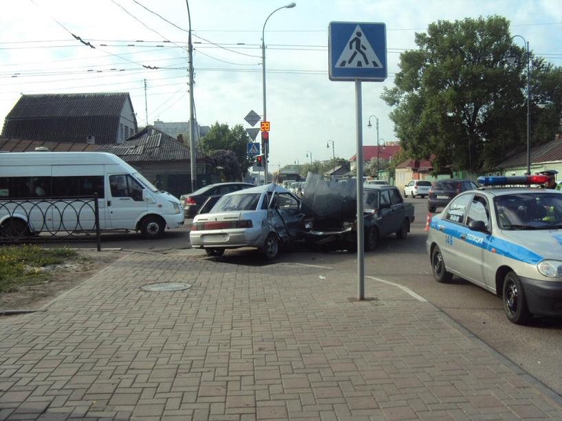 За неделю в ДТП на Тамбовщине пострадали шестеро детей