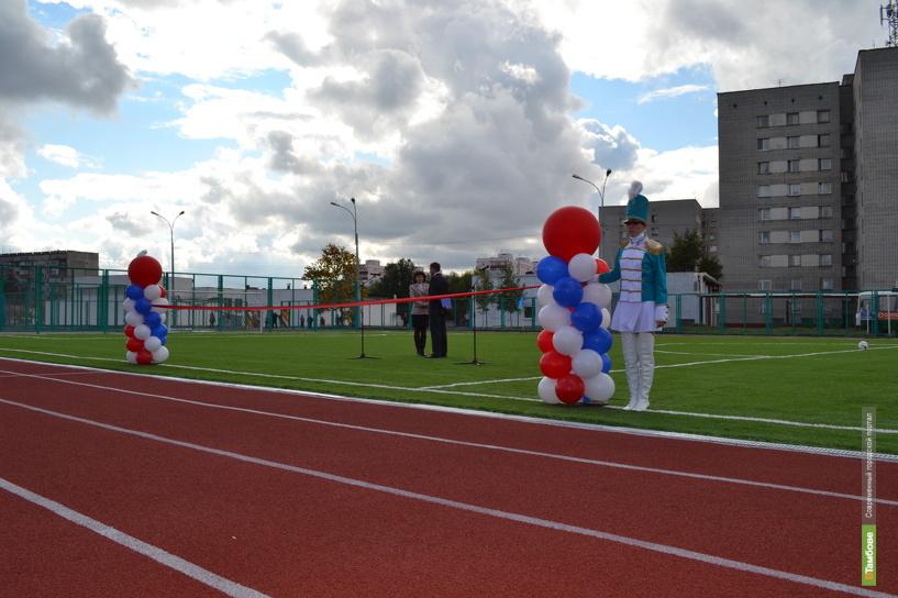 В Тамбове откроют современный пришкольный стадион