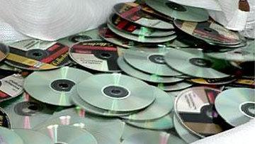 Полицейские закрыли магазин с «пиратскими» дисками