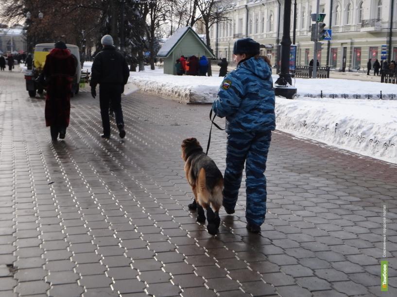 Тамбовских полицейских поднял на ноги подозрительный пакет в центре города
