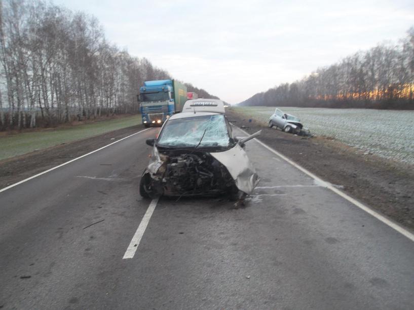 На трассе «Тамбов-Пенза» столкнулись два ВАЗа: есть погибшие и пострадавшие