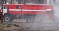 В Мичуринском районе горел автомобильный прицеп