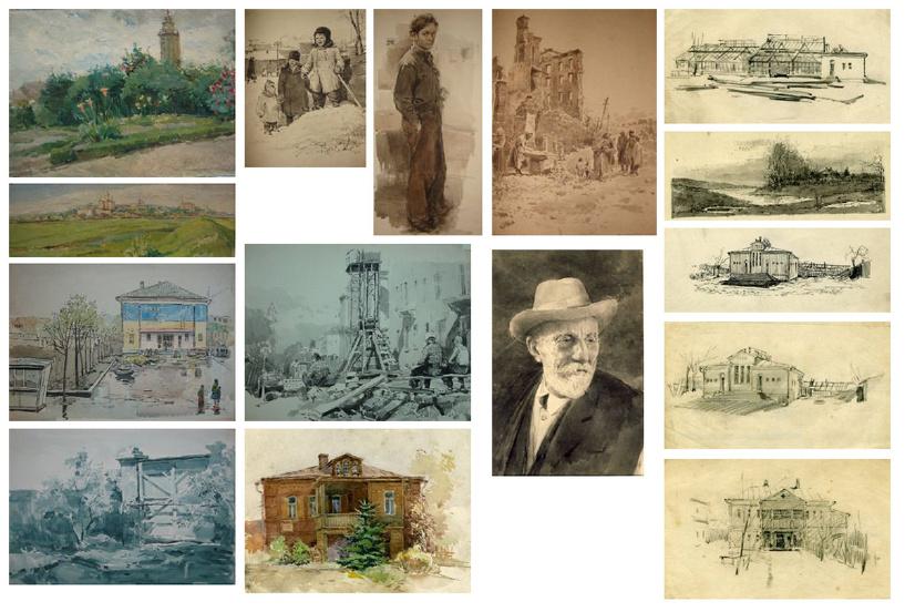 Выставка Аркадия Платицына открылась в Мичуринске