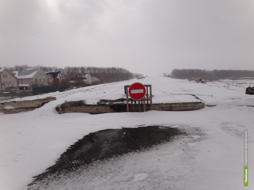 Путепровод на севере Тамбова откроют к Дню города
