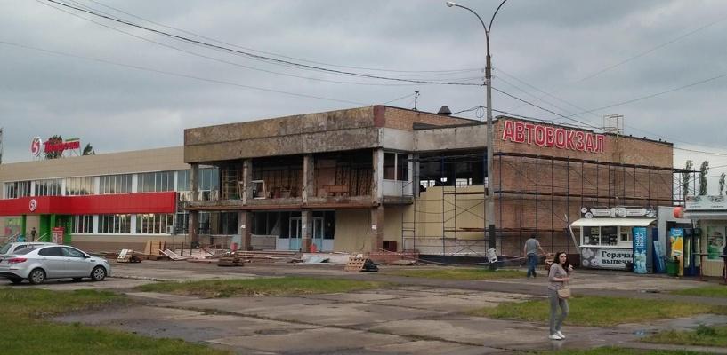 Ремонт автовокзала «Тамбов» обещают завершить к августу