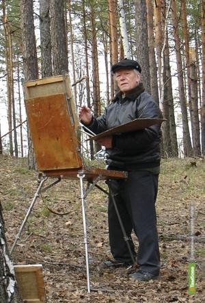 В Тамбове выставили картины Евгения Соловьёва