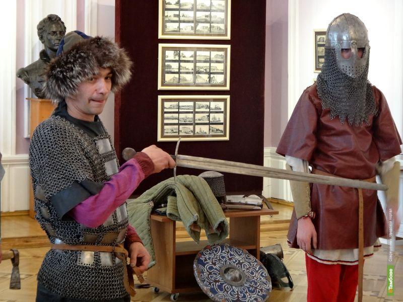 Кадеты Тамбова побывали в гостях у древнерусских дружинников