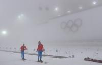 Из-за тумана в Сочи соревнования по сноуборду и биатлону перенесли на завтра