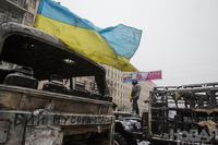 В Киеве от огнестрельных ранений погибли два человека