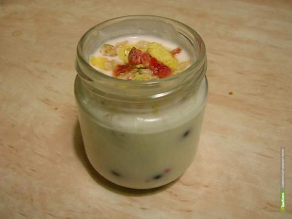 Специально для панков выпущены соленый и чесночный йогурты
